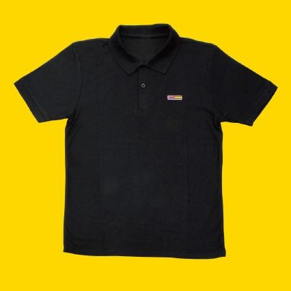 ポロシャツ Men's ブラック